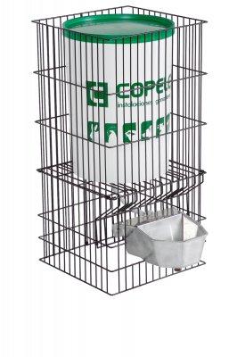 Bebedero Acuacán aluminio con depósito