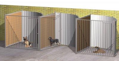 Box frente giratorio Med. 203 x 200 x 185 cm